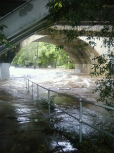 Enoggera creek at Walton Bridge