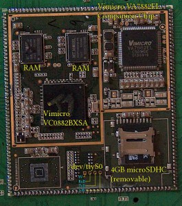 The system on module within the Flytouch III