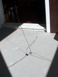 Completed untuned antenna